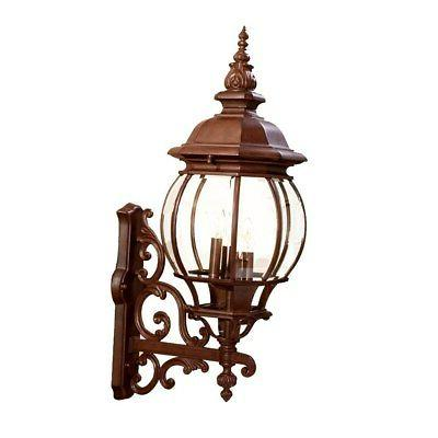 Acclaim Lighting Chateau Collection Wall-Mount 4-Light Brown