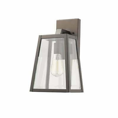chloe transitional 1 light rubbed bronze outdoor