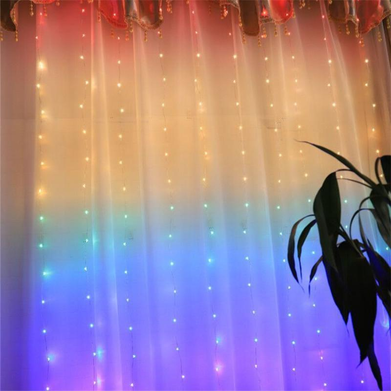 Coversage LED <font><b>String</b></font> <font><b>String</b></font> 3x1M Outdoor Home Decorative