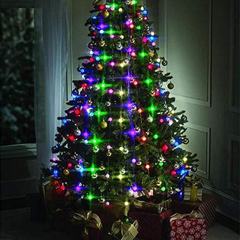 Christmas Tree <font><b>String</b></font> 48/64 Led 1.5m Regulator <font><b>Light</b></font> <font><b>Indoor</b></font> Decoration Colorful Lanterne