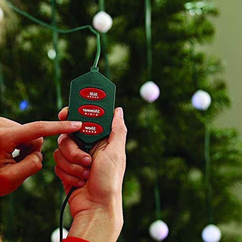 Christmas Tree <font><b>Light</b></font> 48/64 Led Rgb 1.5m Regulator Colorful Lanterne