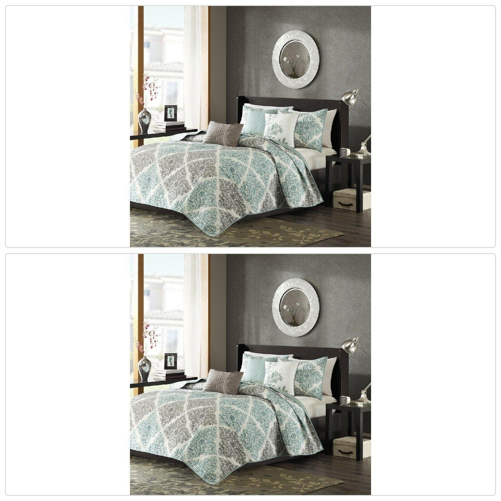 claire quilted coverlet set