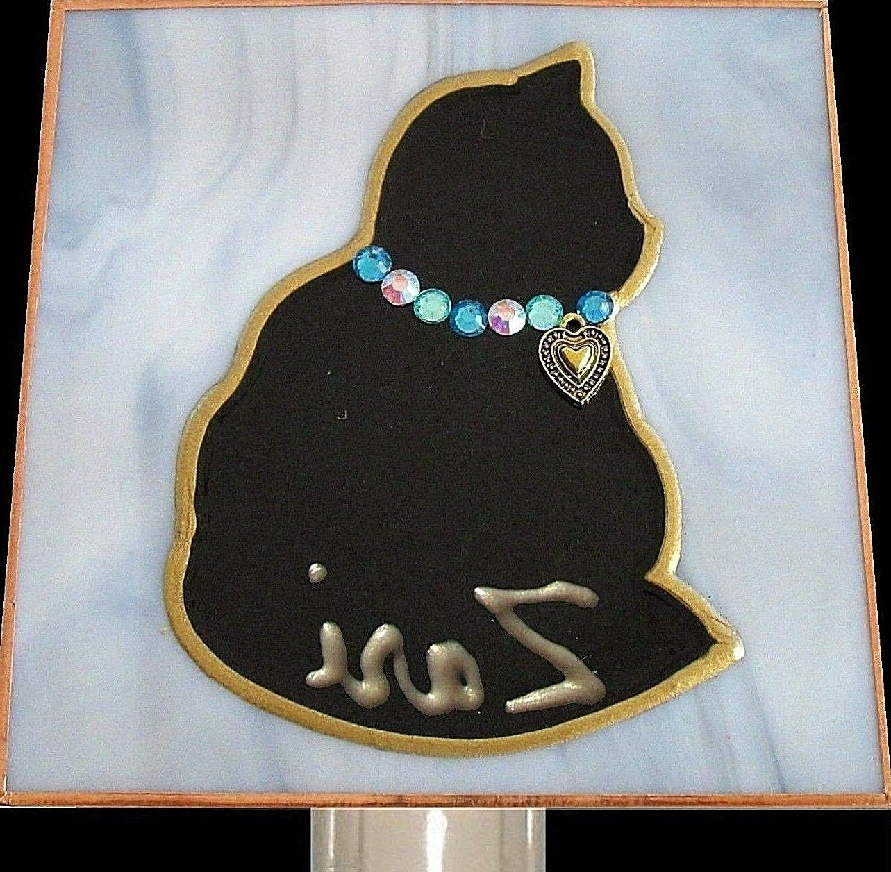 Decor Personalized Night In Stain Art Baby Gift