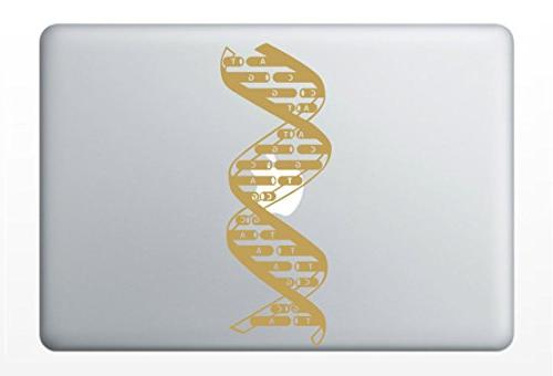 dna deoxyribonucleic acid vinyl laptop