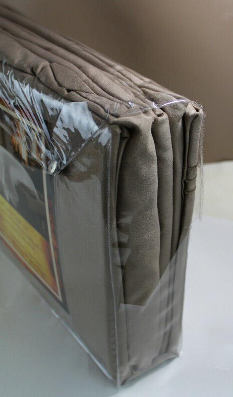 Egyptian Comfort Classic King Sheet set light brown or Taupe?