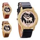 FanTeeDa Gentleman Ladies Watch Elegant Wood Case Quartz Mov
