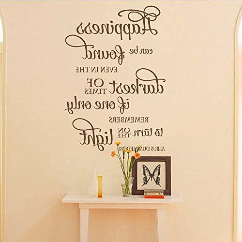 happiness can found wall decal