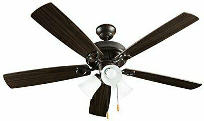 indoor ceiling fan with lights 52 inch