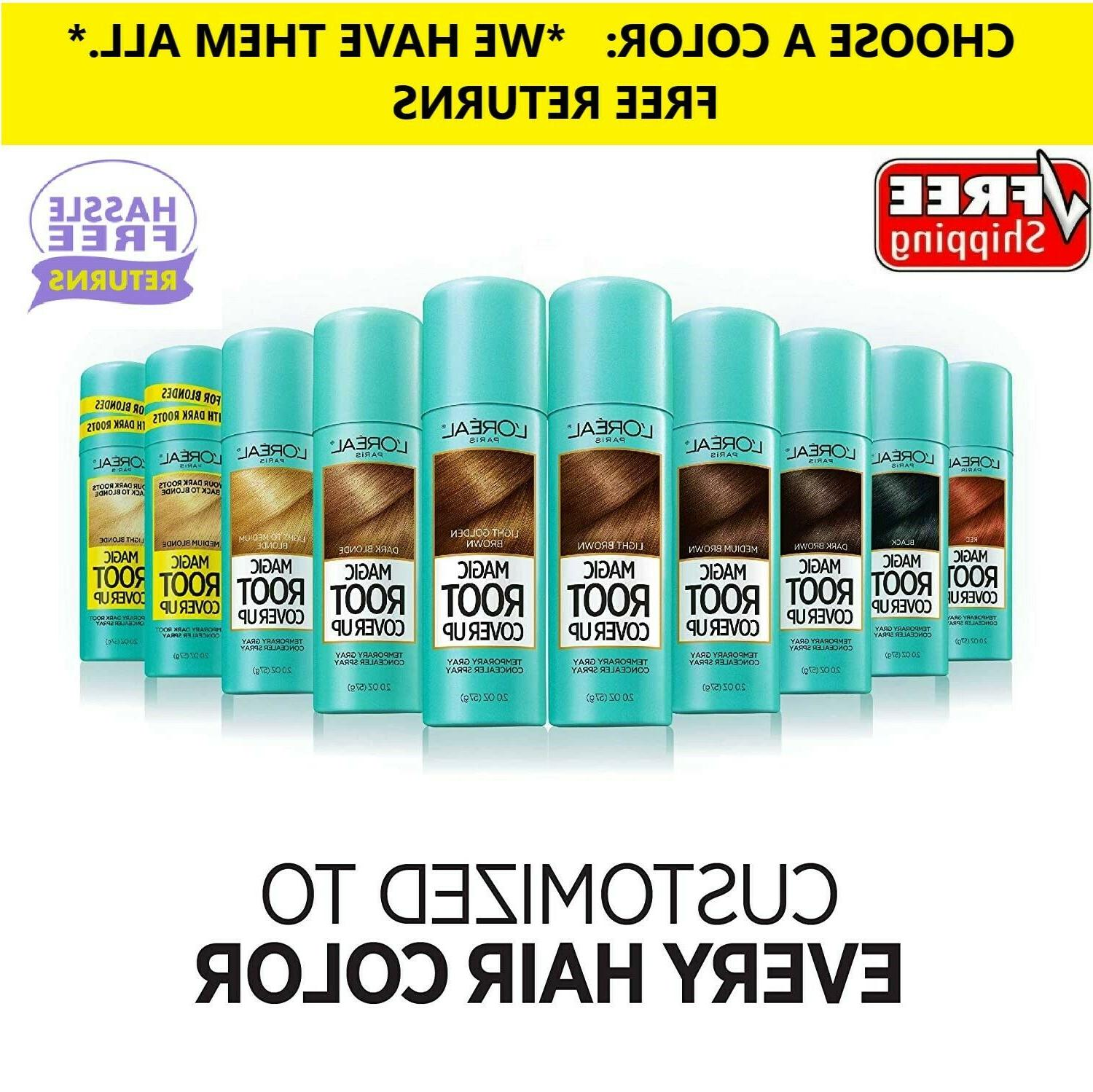 l oreal paris root cover up gray