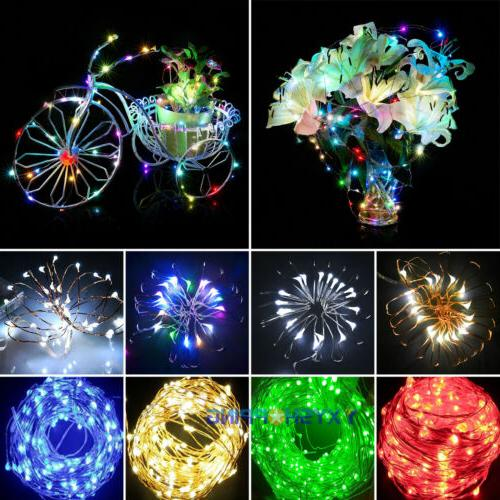 10-80LED String 2020 Party Decor