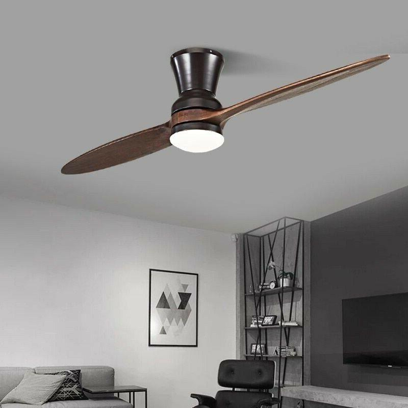 LED Ceiling With Modern Light Decorative Fan