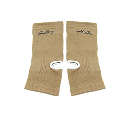 light brown ankle foot protector