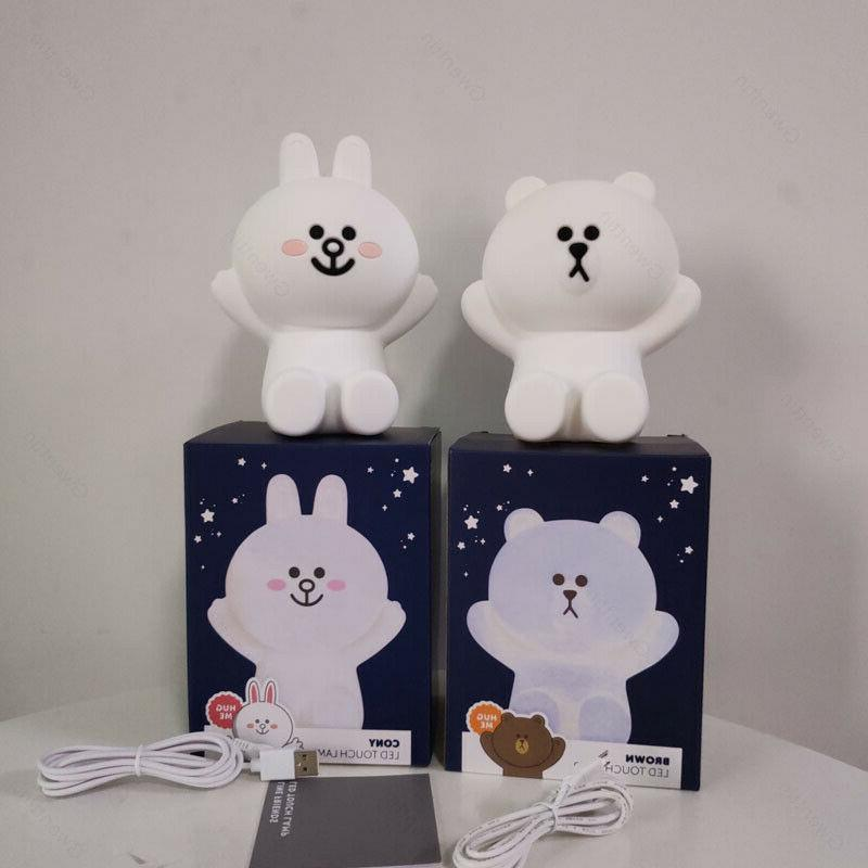 Line Night Lights Bear Rabbit LED Kids Baby