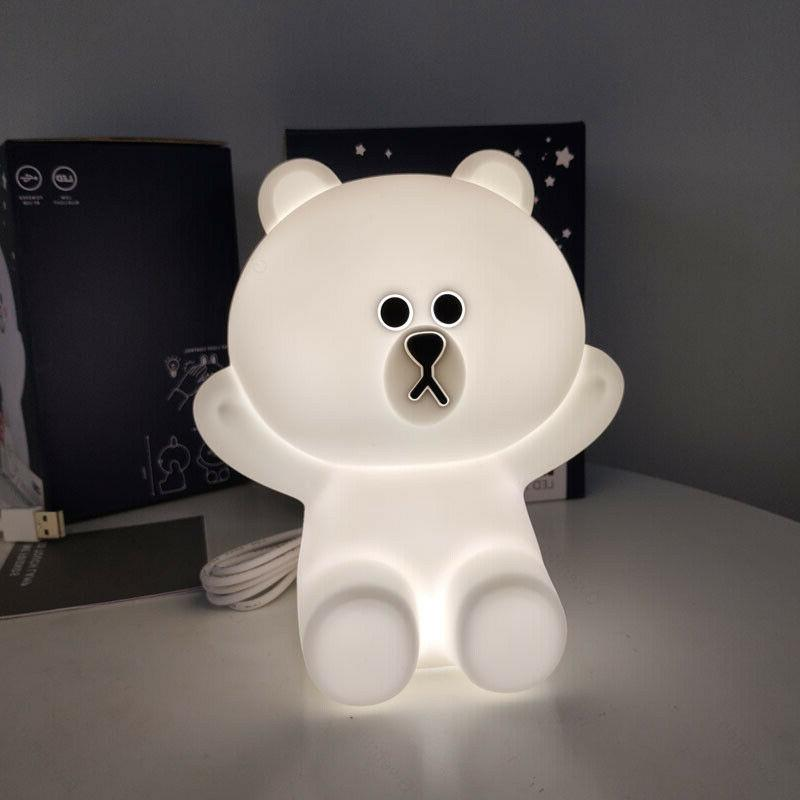 Line Friends Touch Lights Bear Rabbit Kids Baby