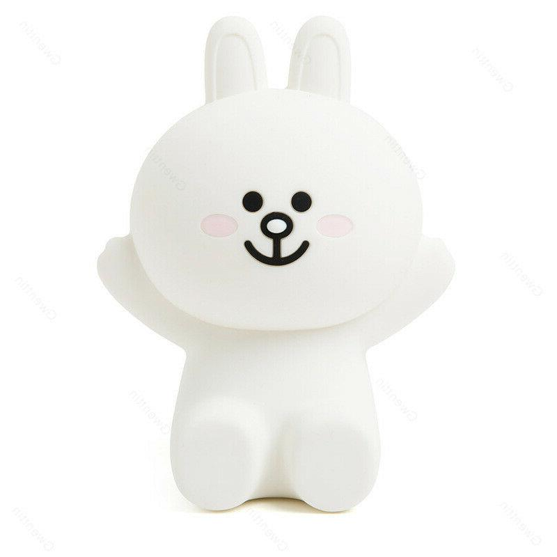 Line Touch Night Lights Bear Rabbit LED USB