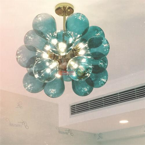 Modern Glass Bulb Bubble Pendant Lamp Fixture