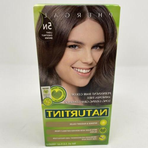 Naturtint Permanent Hair Colorant 5N Light Chestnut Brown --