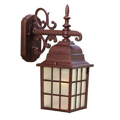 Acclaim Lighting Nautica Collection Wall-Mount 1-Light Brown