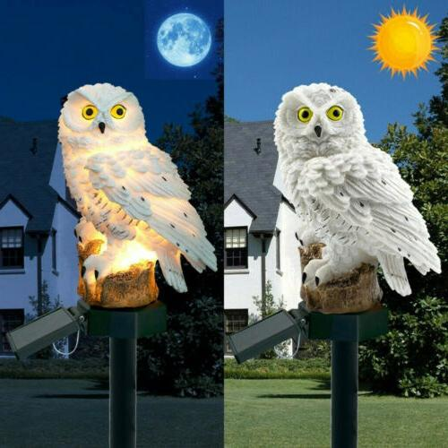 Outdoor Lights Owl Lawn