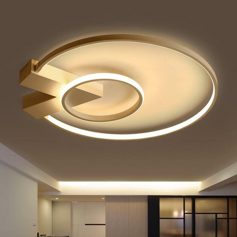 pendant lamp design circle modern led ceiling