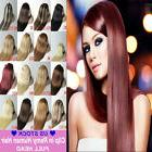 Real Elegant Clip In Remy Human Hair Extensions Full Head CL