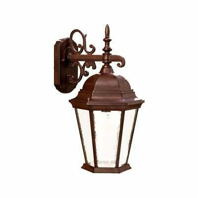 richmond collection wall mount 1 light brown
