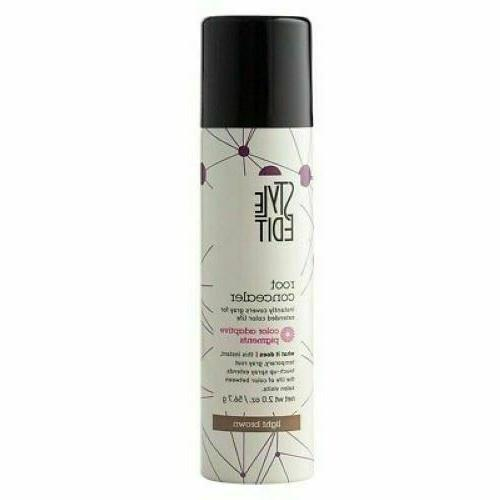 root concealer touch up spray light brown