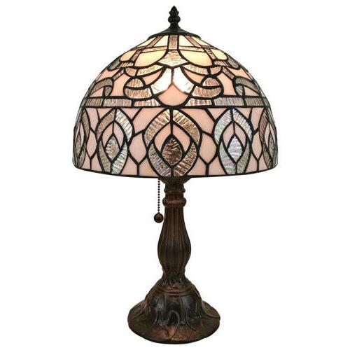 table lamp 19 inch tiffany style metal