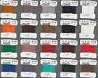 Thread Silamide 2-ply Waxed Nylon ALL COLORS, size A Beading