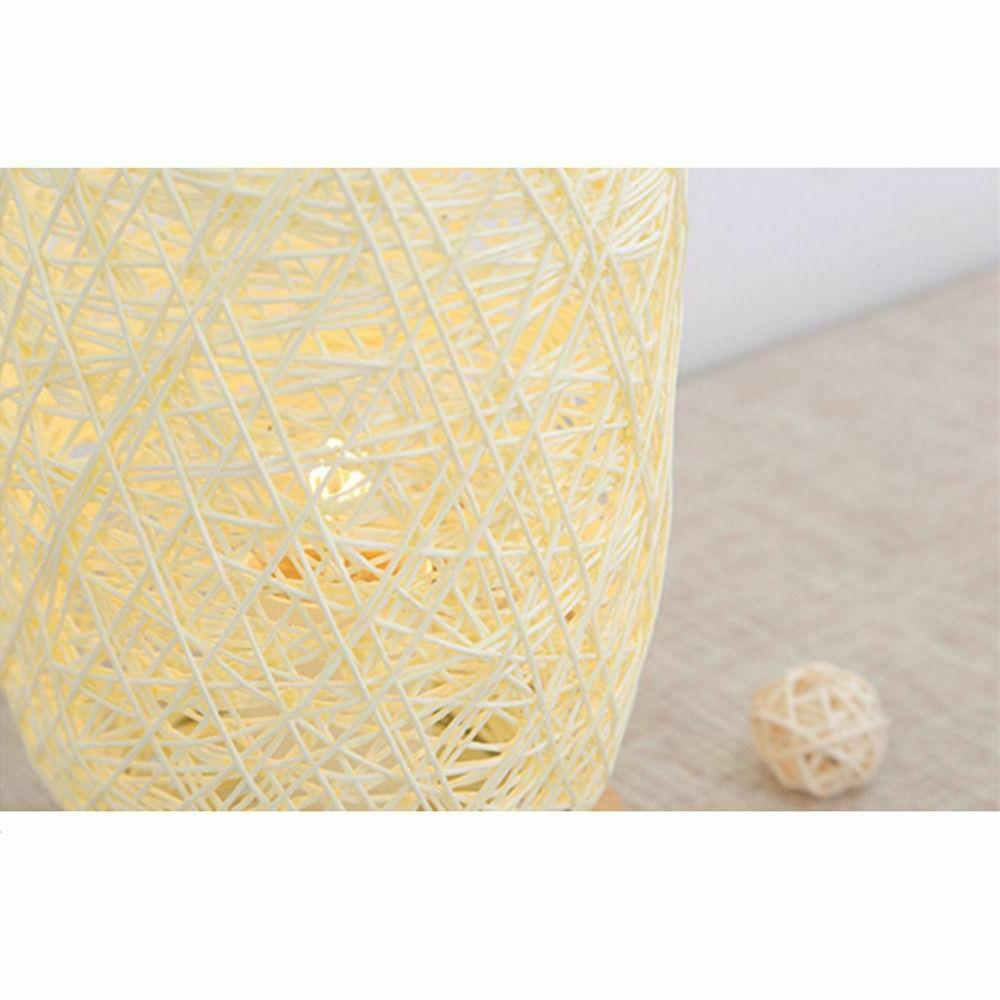 Twine Rattan Home Desk Light