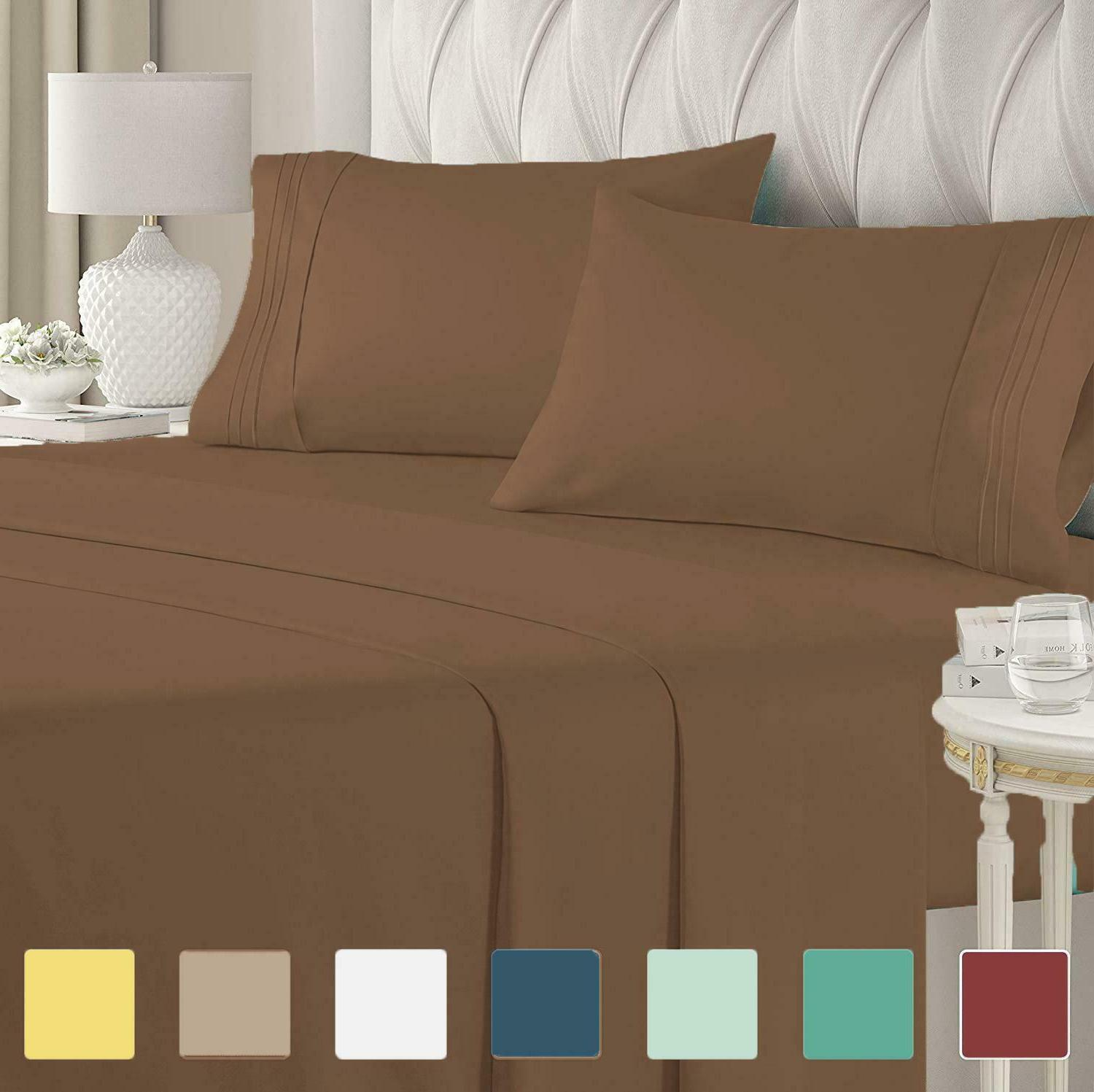ultra luxury collection comfort bed sheet set