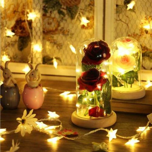 with Wooden Glass Lampshade Flowers Lights