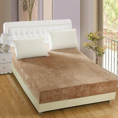 Washable Flannel Bed Bedding New
