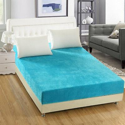 Washable Protector Mattress Bedding New