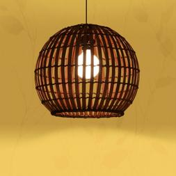 LED Bamboo Lights Dining Chandelier Ceiling Lamp Fixtures Pe