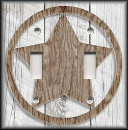 Light Switch Plate Cover - Rustic Farmhouse Decor Country St