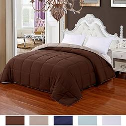 Homelike Moment Lightweight Reversible Comforter Down Altern
