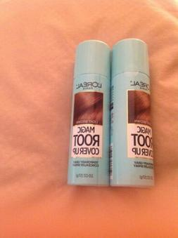 Loreal Root Cover Up Light BROWN 2 cans 2oz each