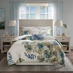 Harbor House Lorelai Duvet Cover King/Cal King Size - White,
