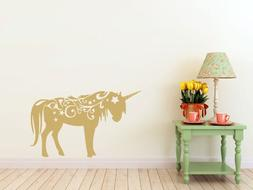 "Magical Unicorn- Wall Decal  x 37"" )"