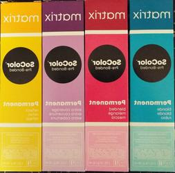 MATRIX SOCOLOR Permanent Cream Hair Color  3oz Choose any sh