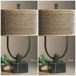 Uttermost 'Stabina' Metal Table Lamp, Size One Size - Brown