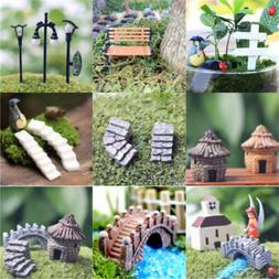 Miniature Fairy Landscape Craft Accessories Dollhouse Terrar