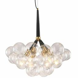 Modern 9/12/18 Globes Bubble Glass Chandelier 6 Lights Penda