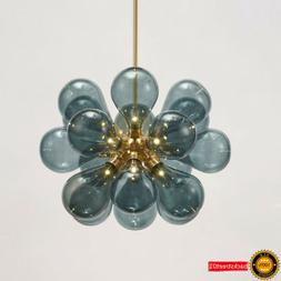 modern creative glass bulb bubble pendant lamp