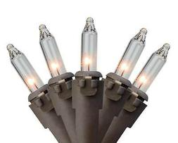 northlight set of 50 clear mini christmas