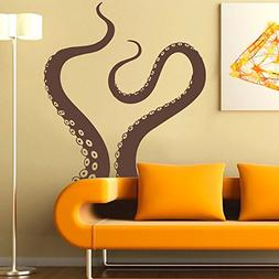 octopus tentacles vinyl wall sea