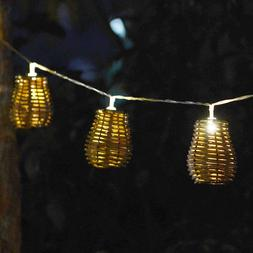Outdoor String Llights Rattan Lamp - Decorative Lights for I