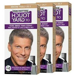 pack of 3 Just For Men Touch Of Gray, Takes Away Some Gray T