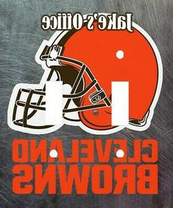 PERSONALIZED CLEVELAND BROWNS FOOTBALL DOUBLE LIGHT SWITCH P